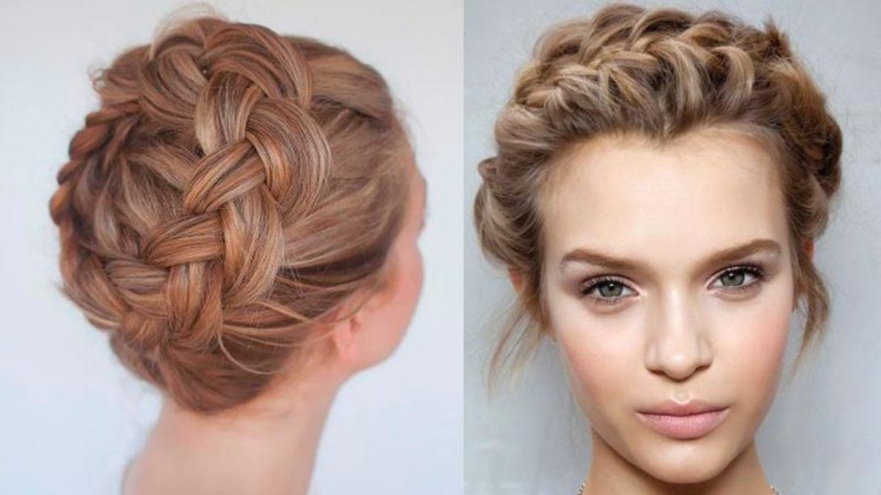 Styles At Life For Well Known Messy Crown Braid Hairstyles (View 18 of 20)