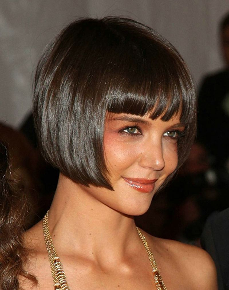Sultry And Sexy Bob Hairstyles With Bangs Intended For 2018 Short Black Bob Hairstyles With Bangs (View 14 of 20)