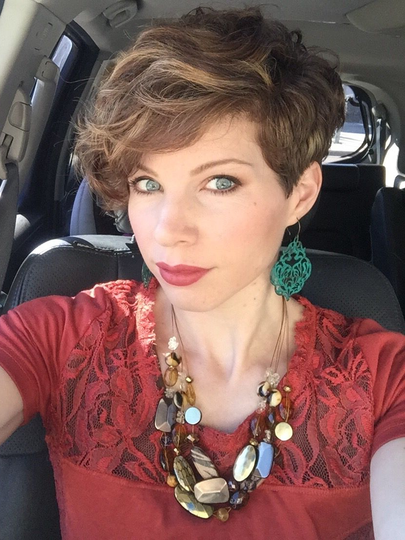 Textured Asymmetric Pixie Cut. Curly Pixie Hair (View 12 of 20)