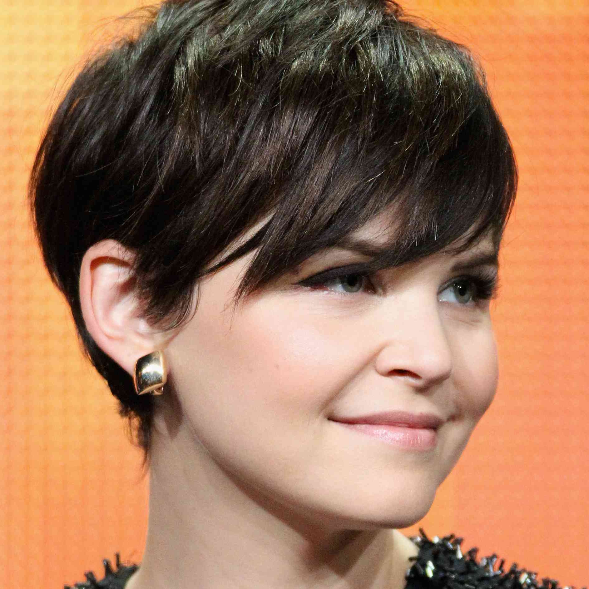 The Best Short Haircuts For Brunettes In Most Up To Date Morena Pixie Haircuts With Bangs (View 17 of 20)