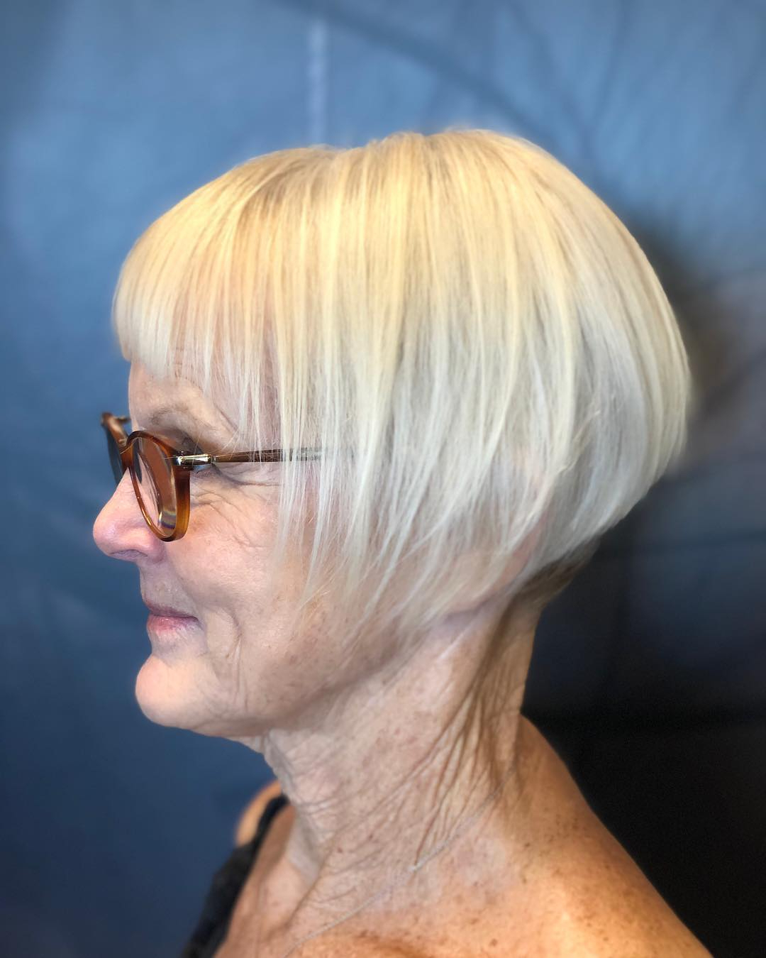 The Hottest Hairstyles And Haircuts For Women Over 60 To With Well Known Ear Length French Bob Hairstyles (Gallery 11 of 20)