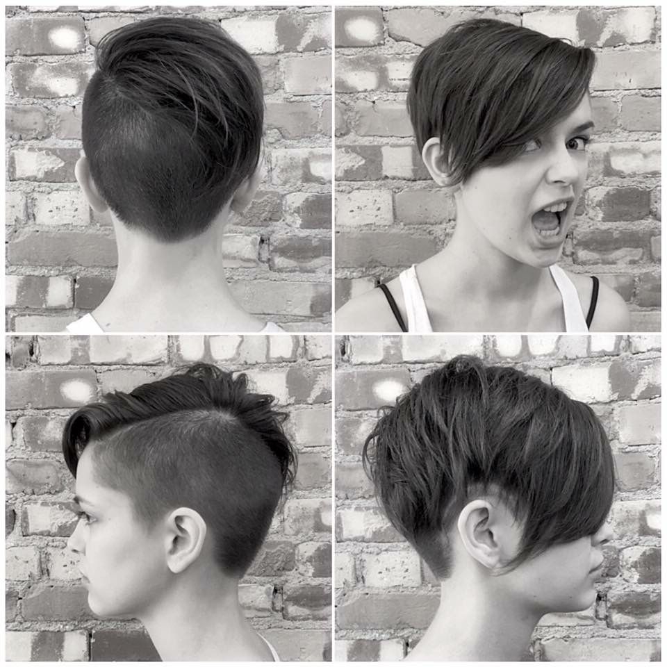 Featured Photo of Disconnected Pixie Haircuts With An Undercut