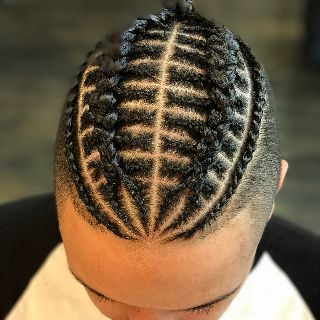 Top 28 Amazing Braids Hairstyles & Haircuts For Men's (View 14 of 20)