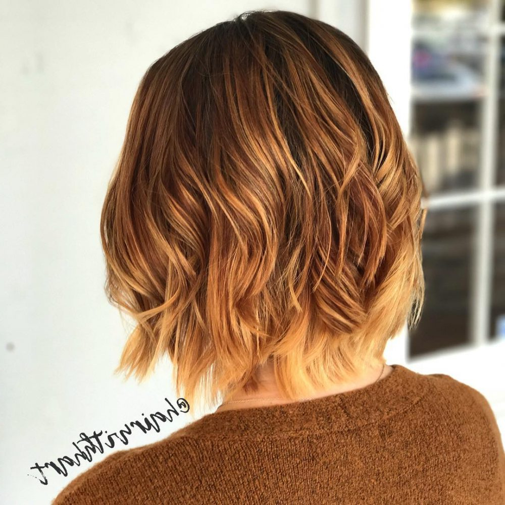 Top 30 Short Ombre Hair Ideas Of 2020 In Well Liked Ombre Piecey Bob Hairstyles (View 19 of 20)