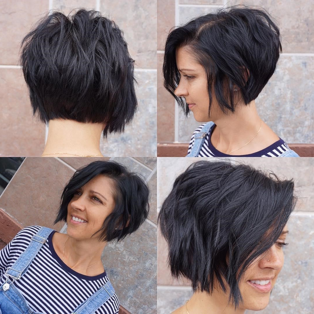Trendy Asymmetrical Bob Hairstyles Throughout 14 Exciting Asymmetrical Bob Haircuts Every Woman Wants To (View 6 of 20)