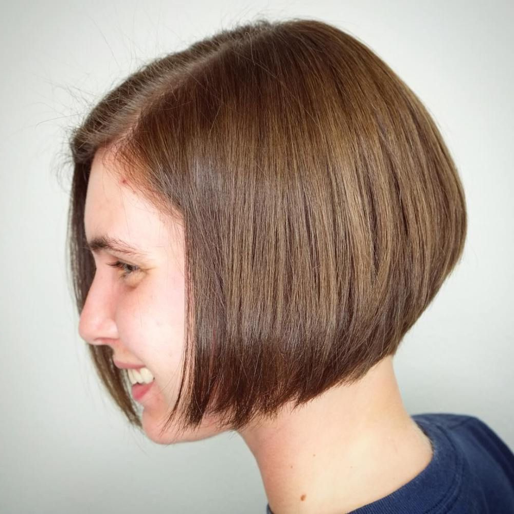 Featured Photo of Jaw Length Short Bob Hairstyles For Fine Hair