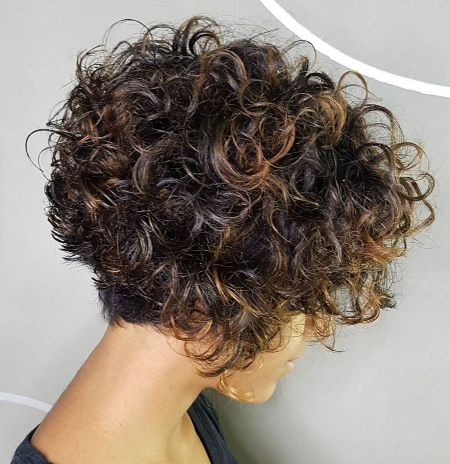 Trendy Naturally Curly Bob Hairstyles Inside 65 Different Versions Of Curly Bob Hairstyle In  (View 16 of 20)