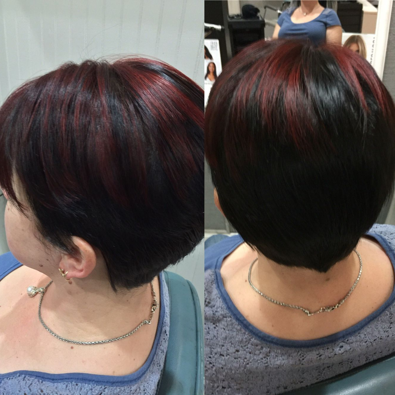 Trendy Pageboy Maroon Red Pixie Haircuts Within Pin On Hairsamantha Noel (View 5 of 20)