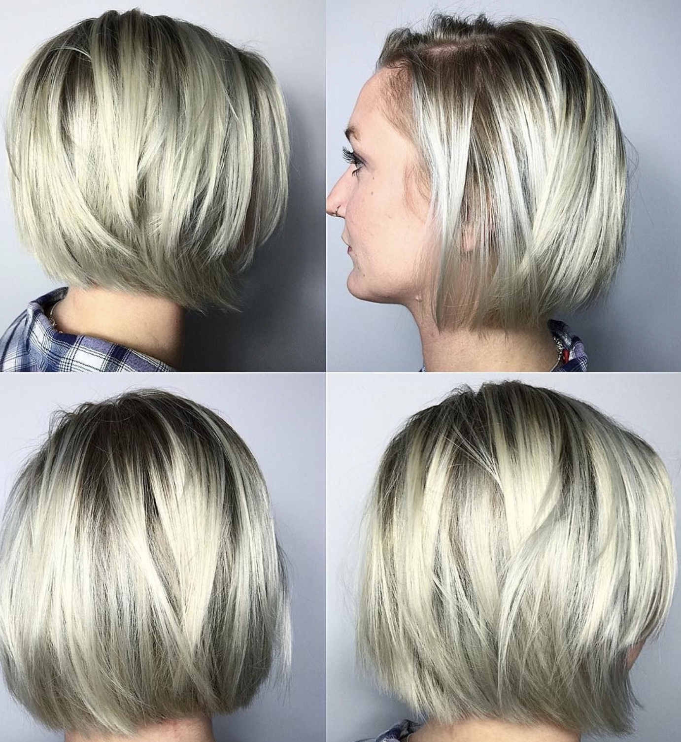 Trendy Rounded Short Bob Hairstyles Pertaining To Short Bob Hairstyle For Fine Hair 2019 You Must Try (View 2 of 20)