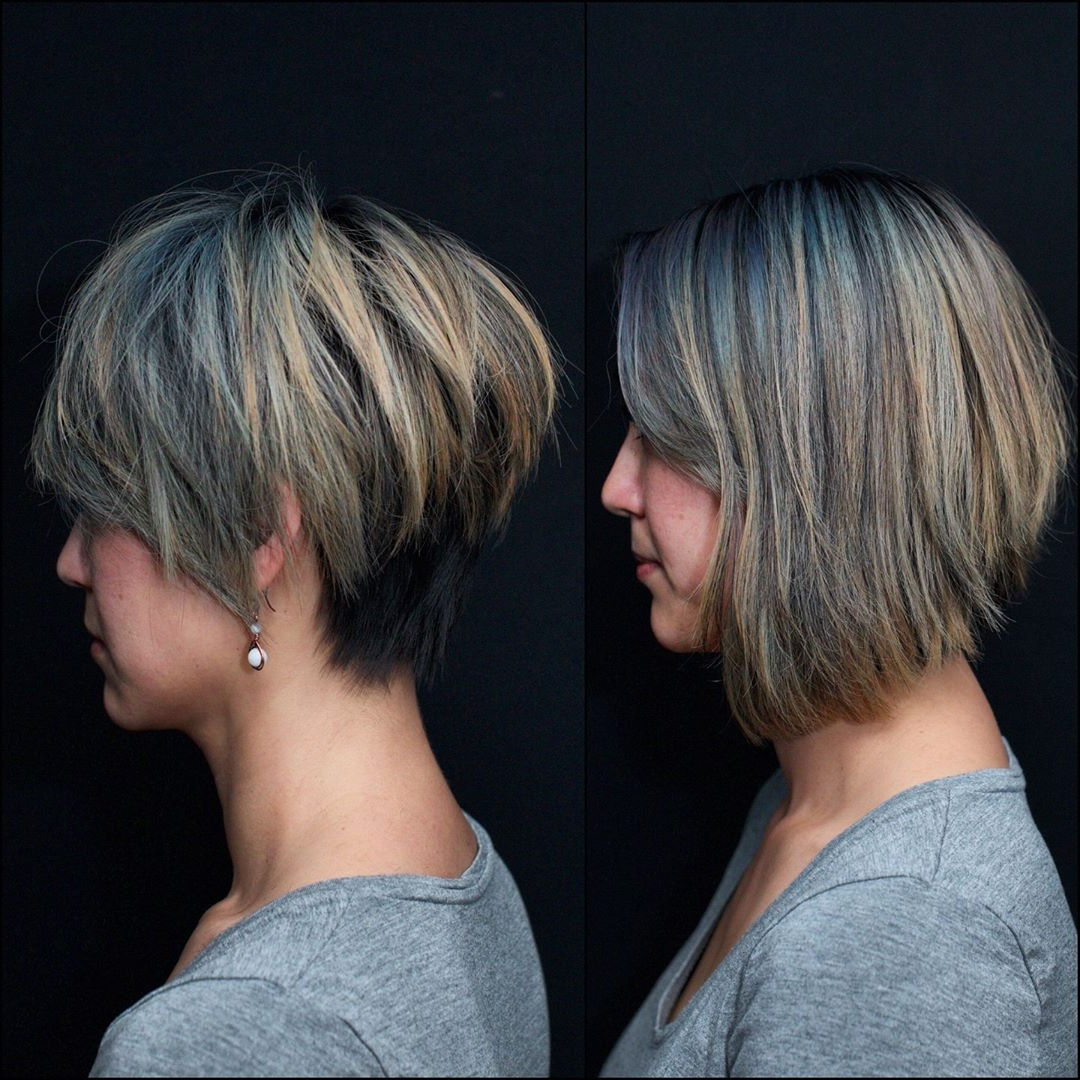 Trendy Short Side Swept Pixie Haircuts With Caramel Highlights In 10 Easy Pixie Haircut Innovations – Everyday Hairstyle For (View 16 of 20)