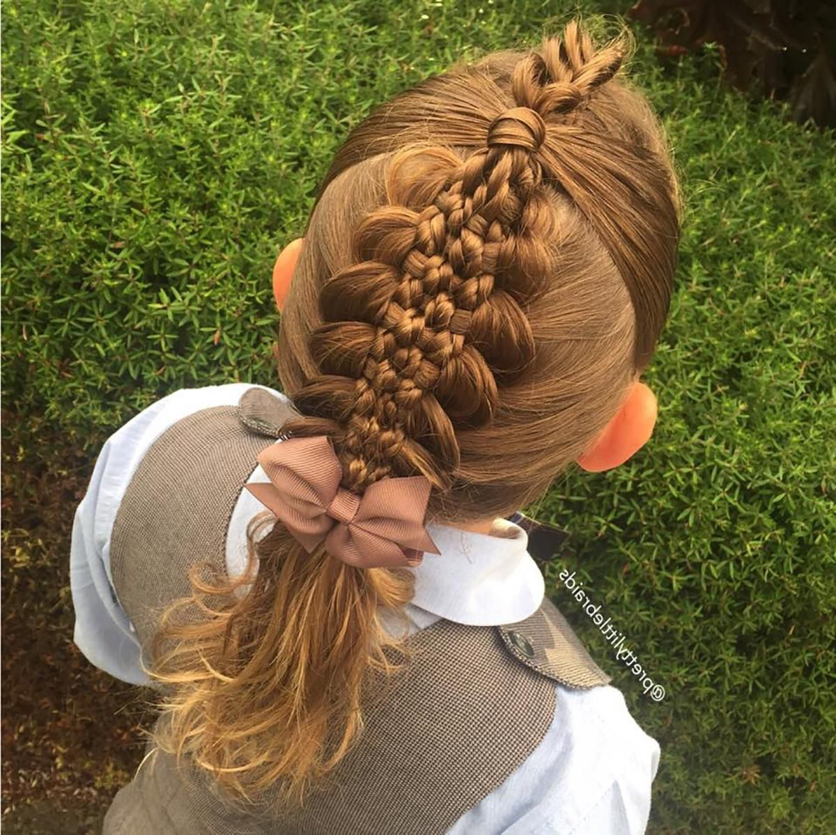 Versatile Braid Styles For Girls That Moms Must Try On Their Intended For Most Up To Date Loose Spiral Braid Hairstyles (Gallery 3 of 20)