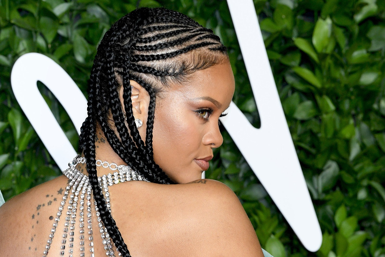 Vogue With Most Recent Cornrow Accent Braids Hairstyles (Gallery 16 of 20)