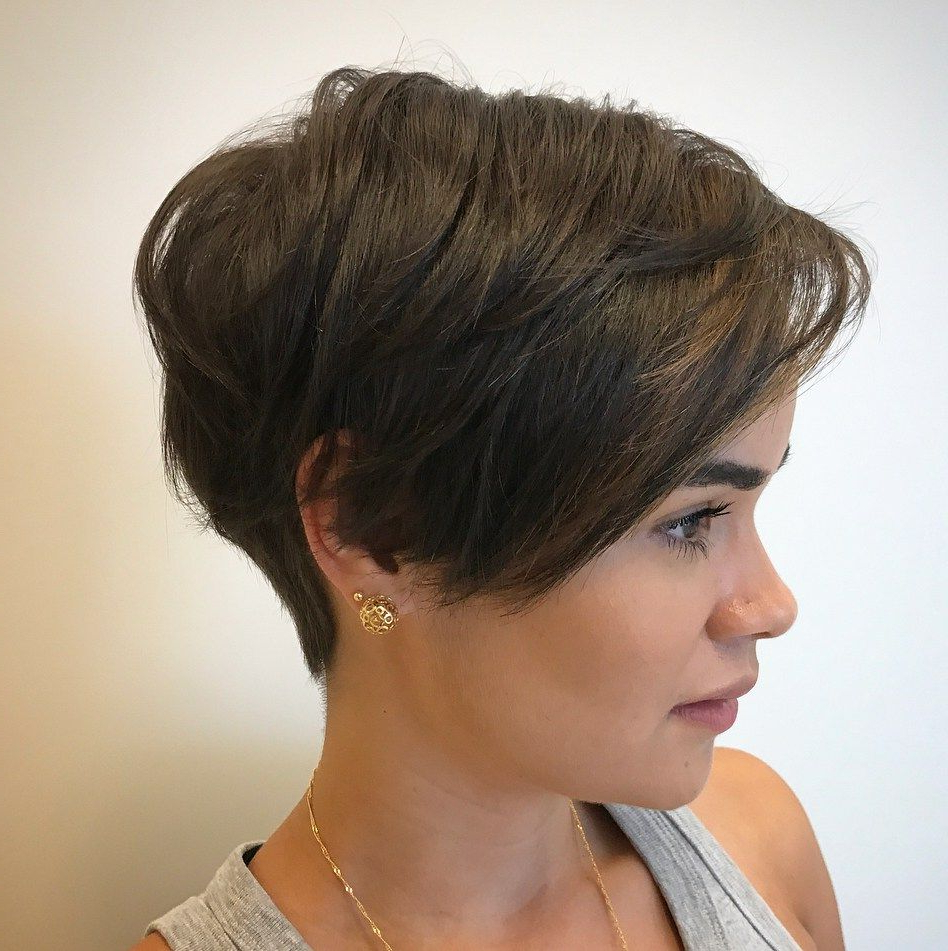 Well Known Androgynous Pixie Haircuts With Pixie Haircuts For Thick Hair – 50 Ideas Of Ideal Short (View 16 of 20)