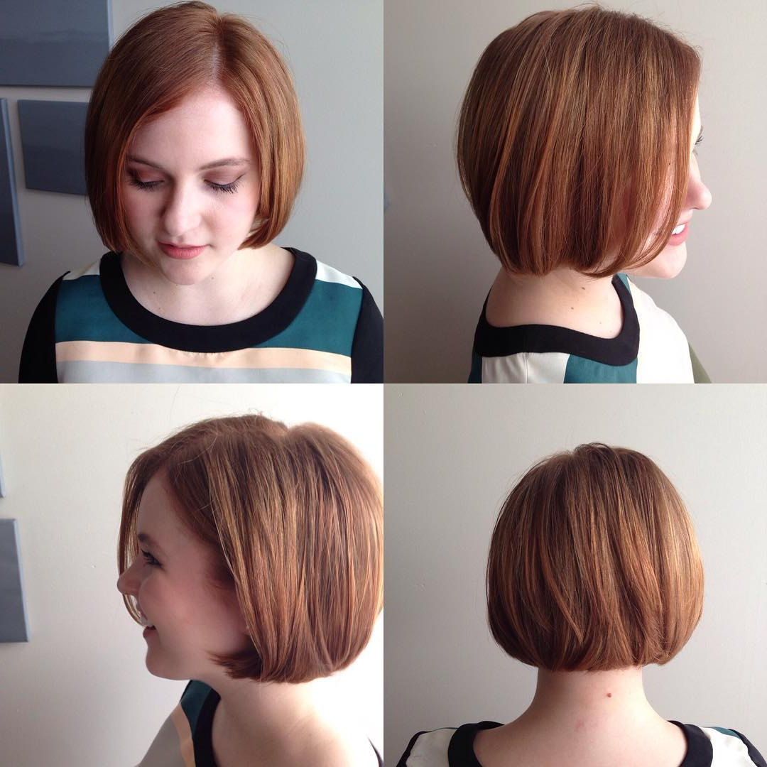 Well Known Bob Hairstyles For A Chubby Face With 40 Most Flattering Bob Hairstyles For Round Faces (View 11 of 20)