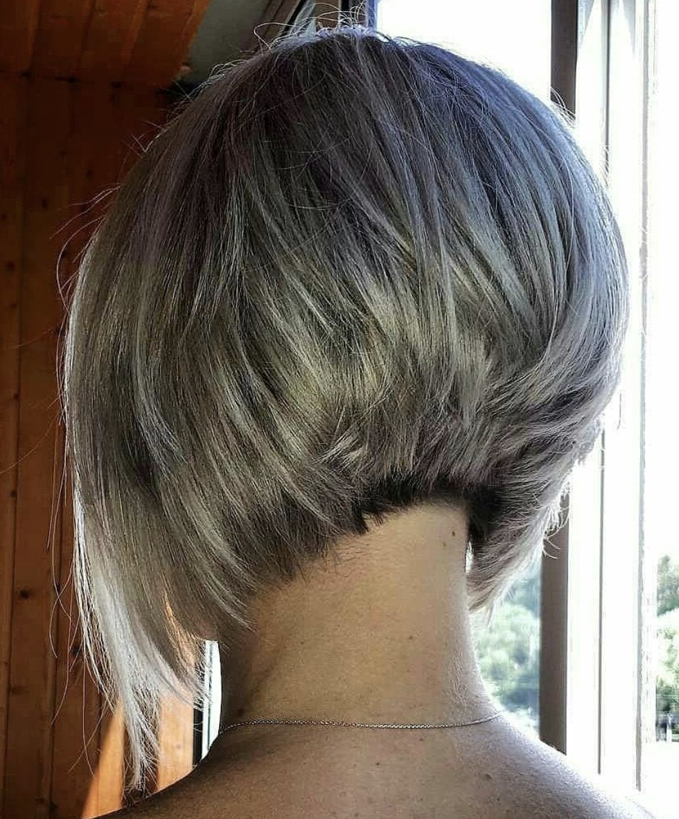 Well Known Concave Bob Hairstyles Pertaining To Concave Bob (View 2 of 20)