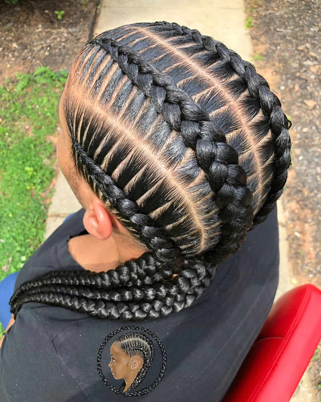 Well Known Curved Goddess Braids Hairstyles With 25 Gorgeous Goddess Braids Styles To Try In (View 20 of 20)
