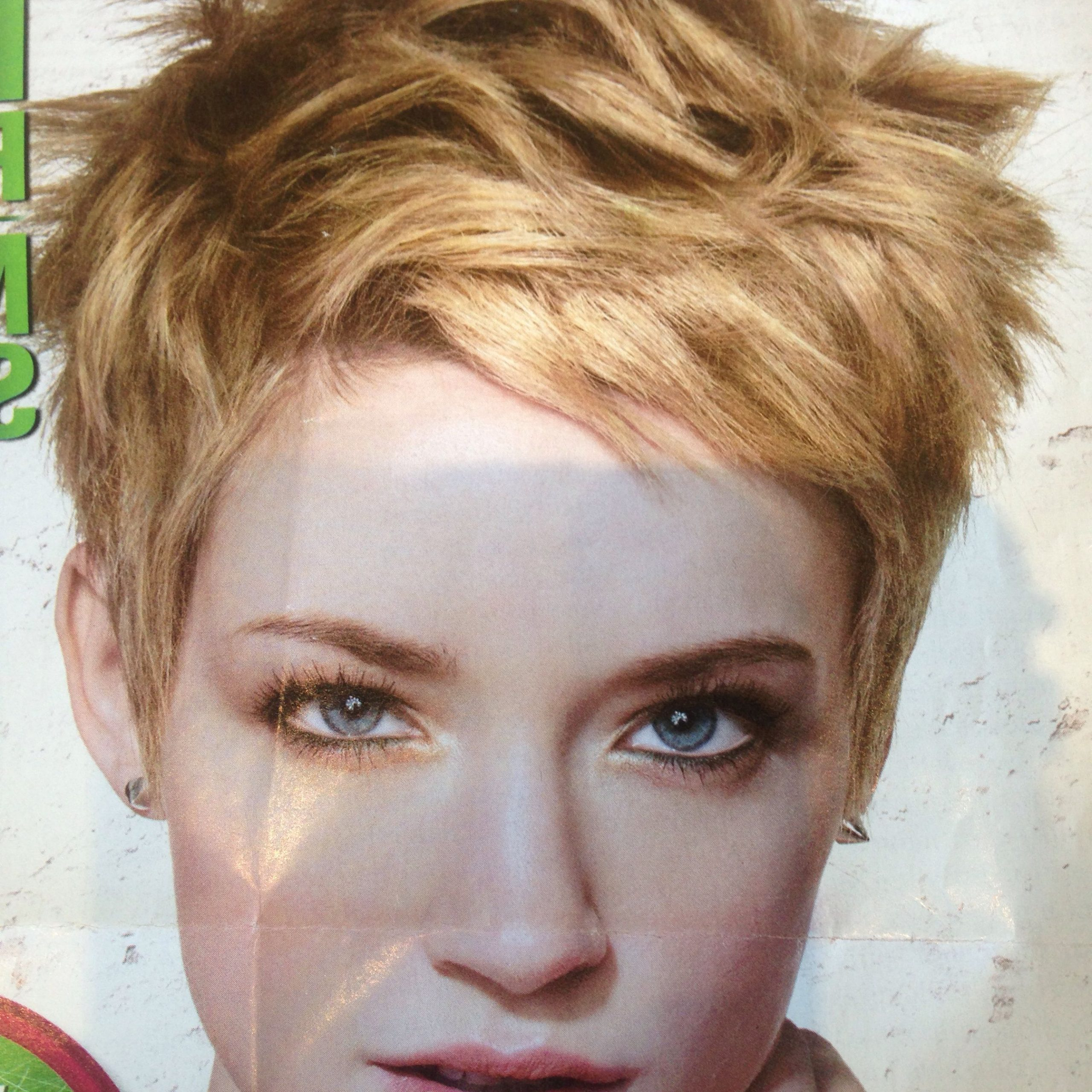 Well Known Edgy Look Pixie Haircuts With Sass For Edgy Piecy Pixie (View 9 of 20)