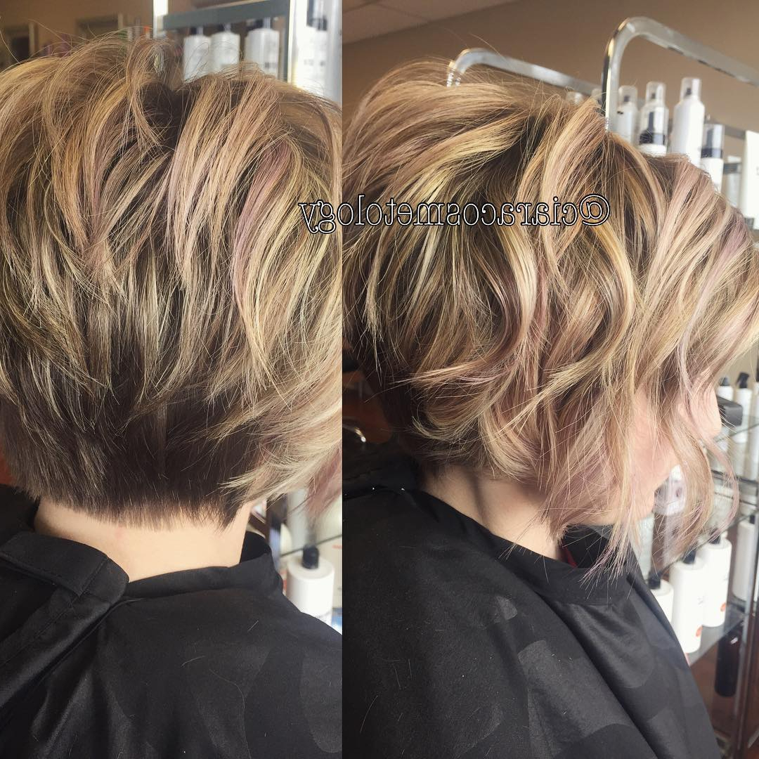 Well Known Layered And Textured Bob Hairstyles With Regard To 28 Best New Short Layered Bob Hairstyles – Popular Haircuts (Gallery 9 of 20)