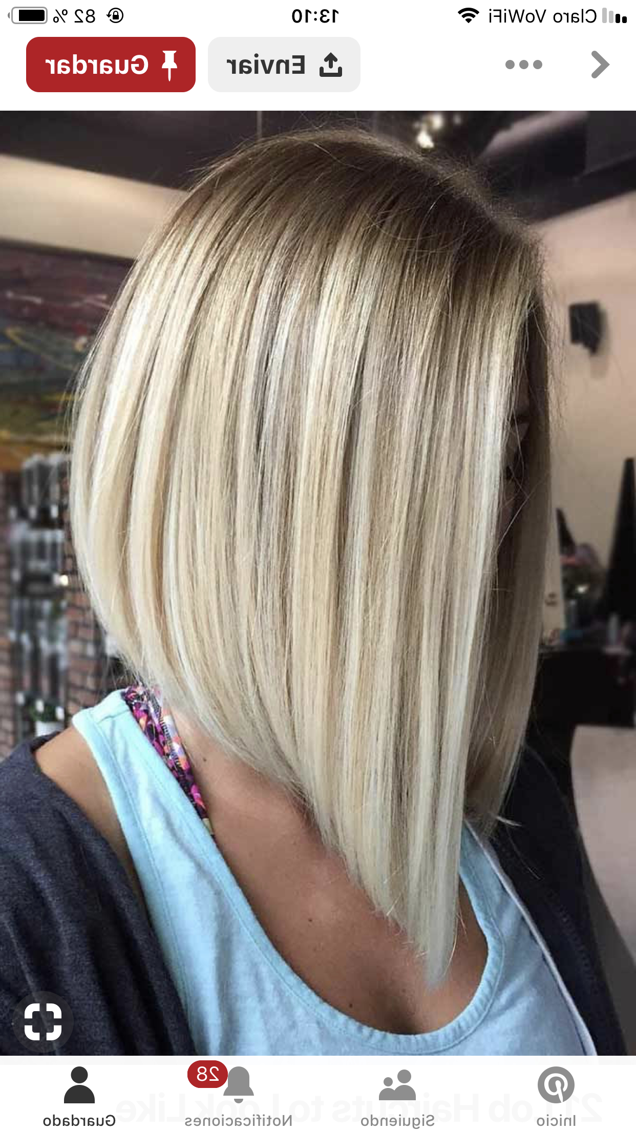 Well Known Sassy Angled Blonde Bob Hairstyles For Pin On Blonde Hair Color (View 17 of 20)