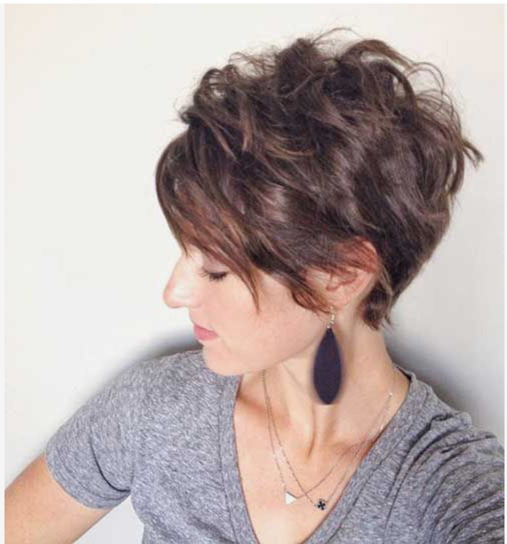Well Known Shattered Choppy Bangs Pixie Haircuts Pertaining To Pinterest (View 2 of 20)
