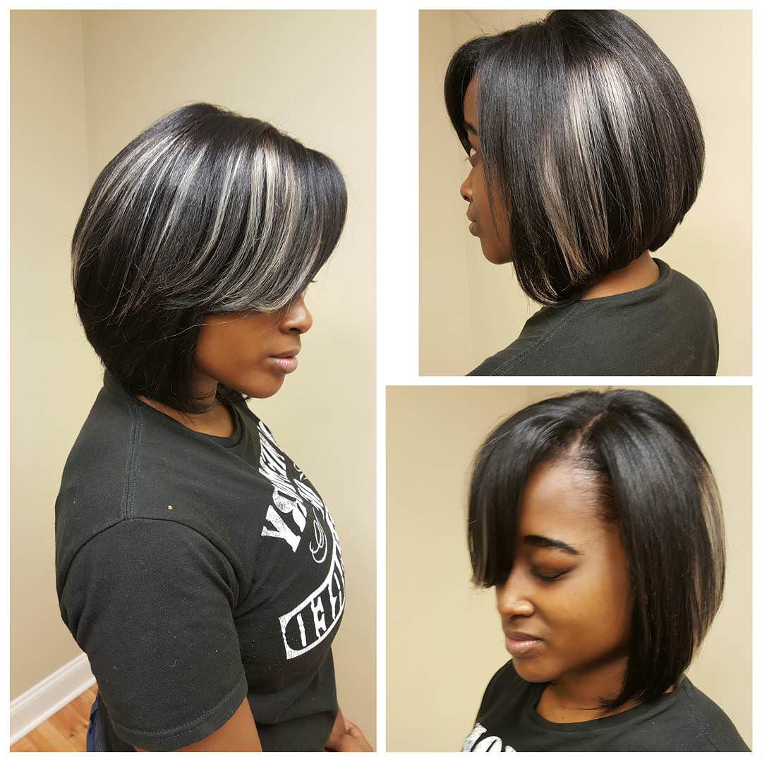 Well Known Short Black Bob Hairstyles With Bangs Regarding 60 Hottest Bob Hairstyles For Everyone! (Short Bobs, Mobs (Gallery 19 of 20)