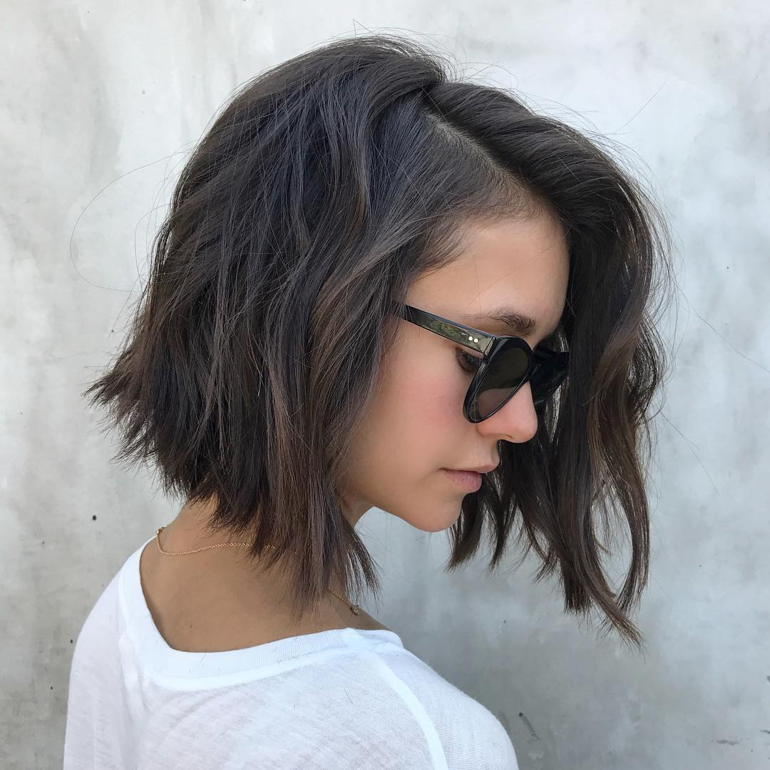 Well Known Smooth Bob Hairstyles With Regard To Top 10 Low Maintenance Short Bob Cuts For Thick Hair, Short (Gallery 7 of 20)