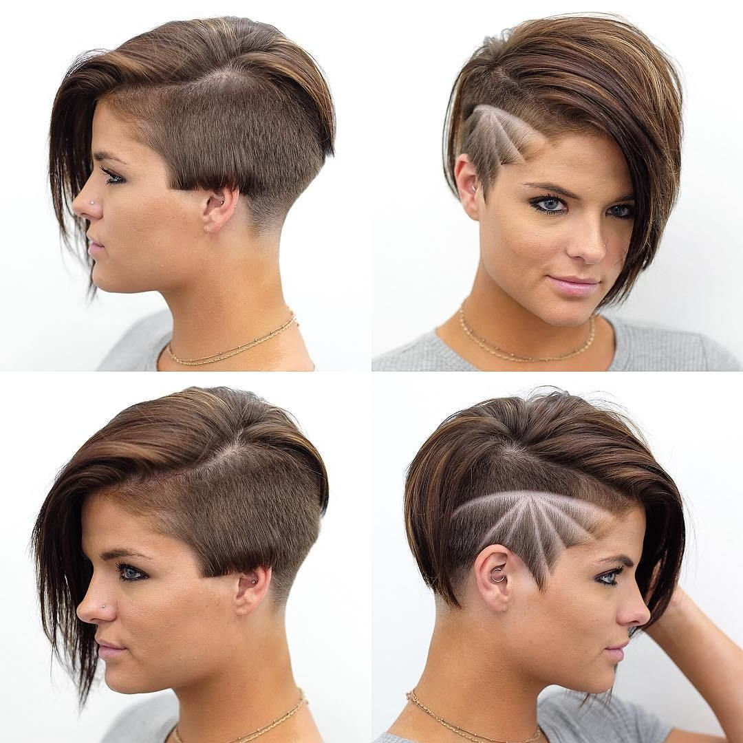 Well Known Smooth Shave Pixie Haircuts Inside Pin On Haircuts (View 2 of 20)