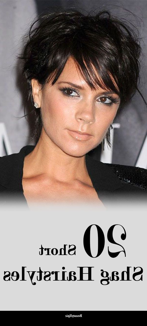 Well Known Super Short Shag Pixie Haircuts Throughout 20 Short Shag Hairstyles And Haircuts Ideas (View 20 of 20)