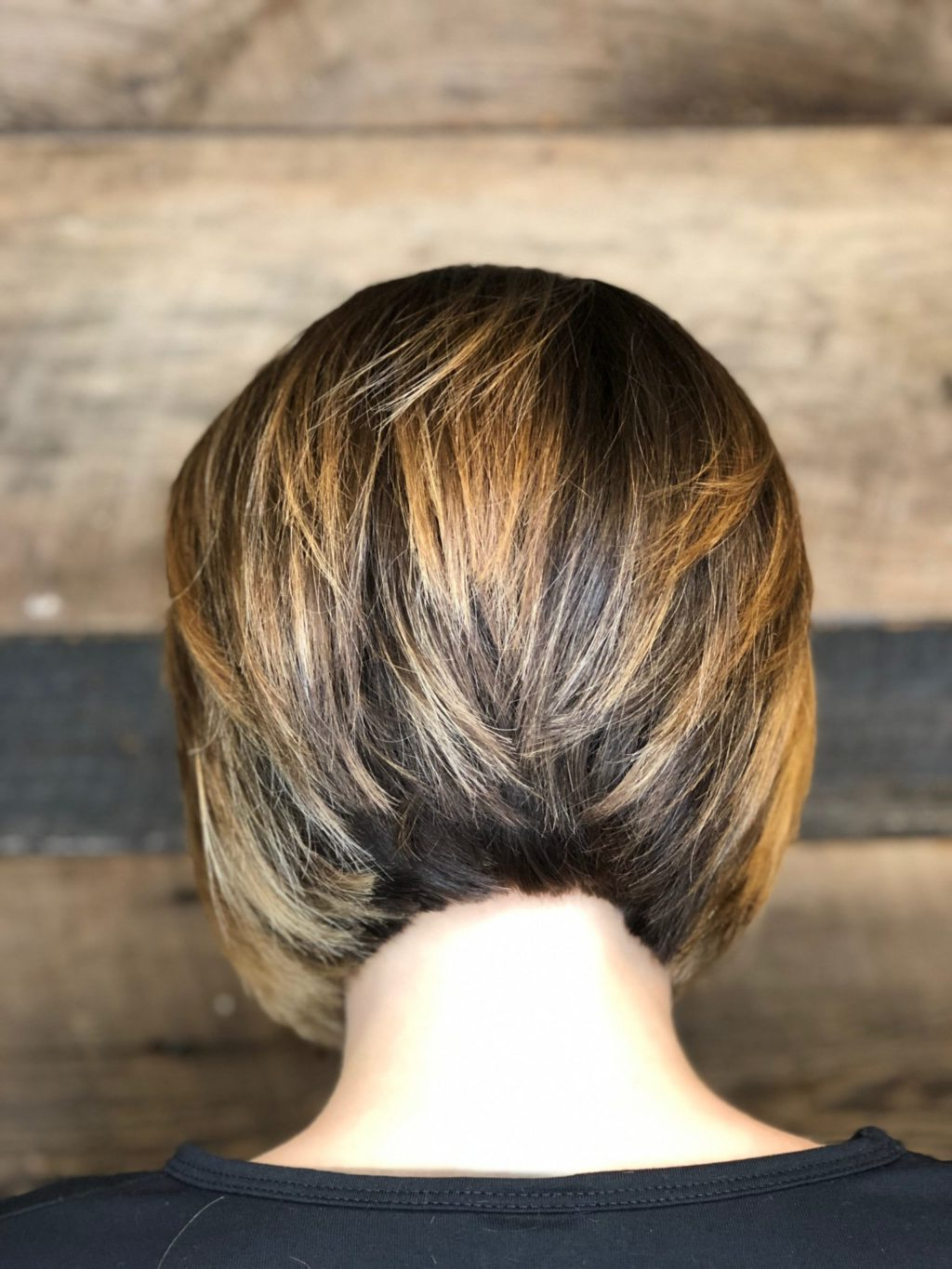 Well Known Textured Classic Bob Hairstyles Inside Precision Classic Bob Haircut Contrast Highlights Short (View 19 of 20)