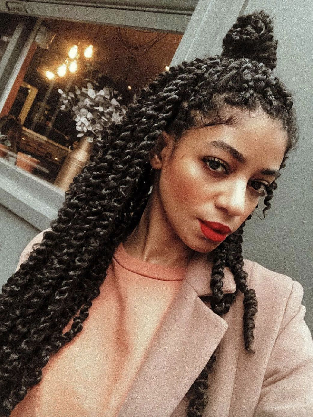 Well Known Three Strand Long Side Braid Hairstyles Throughout What Are Passion Twists? A Guide To The Stunning Natural (Gallery 20 of 20)