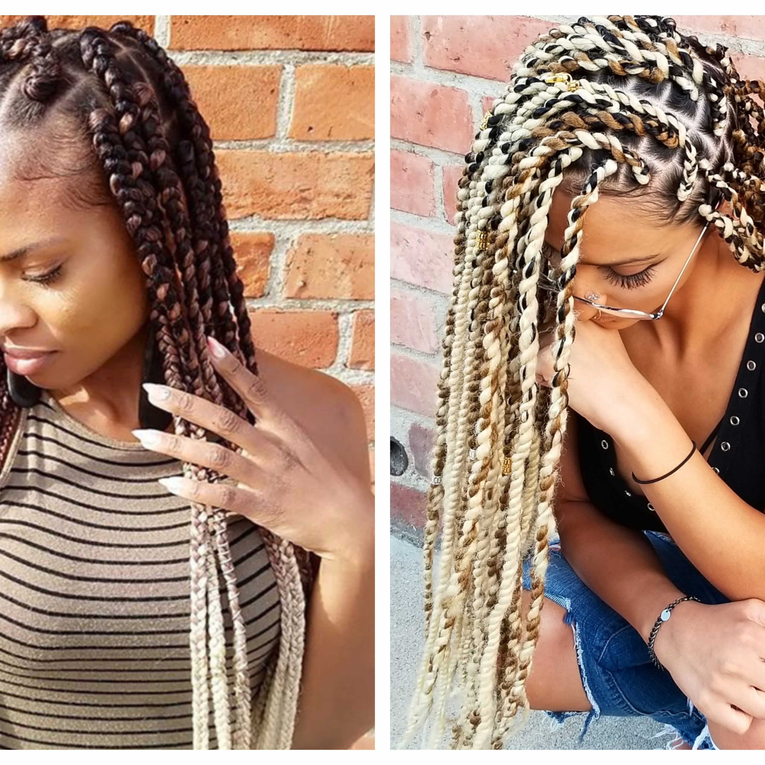 Well Known Ultra Thin Micro Braids Hairstyles Regarding Here's Everything You Need To Know About Getting Braids (View 14 of 20)