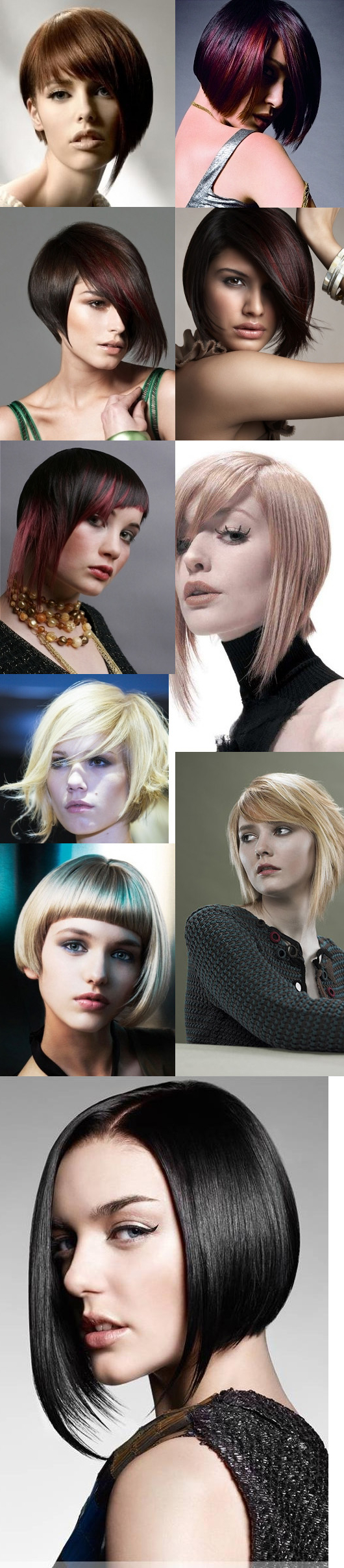 Well Liked Asymmetrical Bob Hairstyles Pertaining To Stunning Asymmetrical Bob Hairstyles For Long And Oval Faces (View 9 of 20)