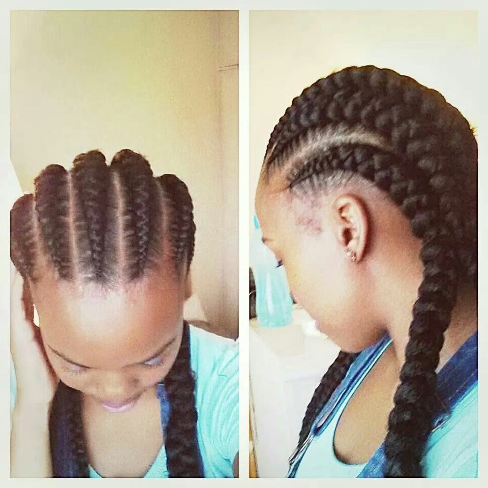 Well Liked Crown Cornrow Hairstyles Throughout Straight Back Cornrows (View 16 of 20)