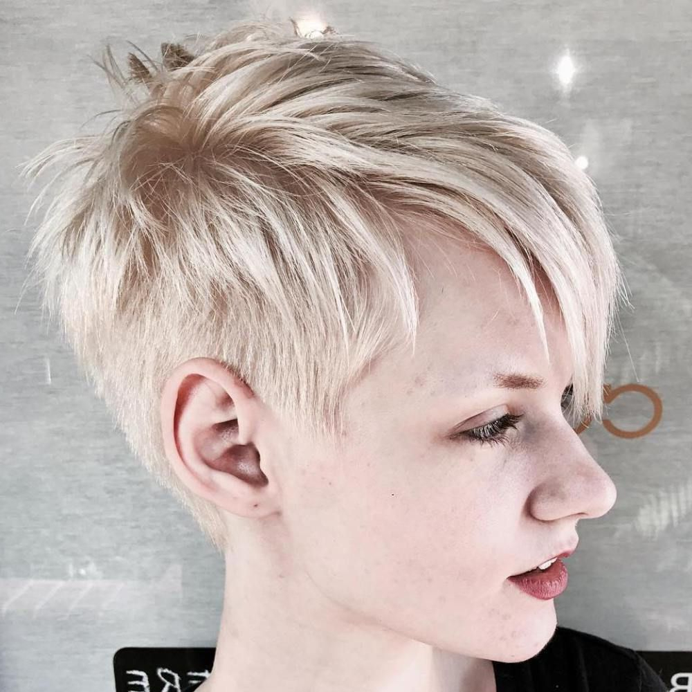 Featured Photo of Disconnected Pixie Haircuts For Fine Hair