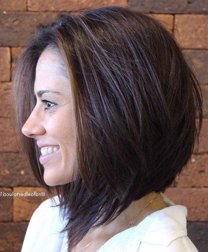 Well Liked Gorgeous Bob Hairstyles For Thick Hair In 60 Most Beneficial Haircuts For Thick Hair Of Any Length (Gallery 5 of 20)
