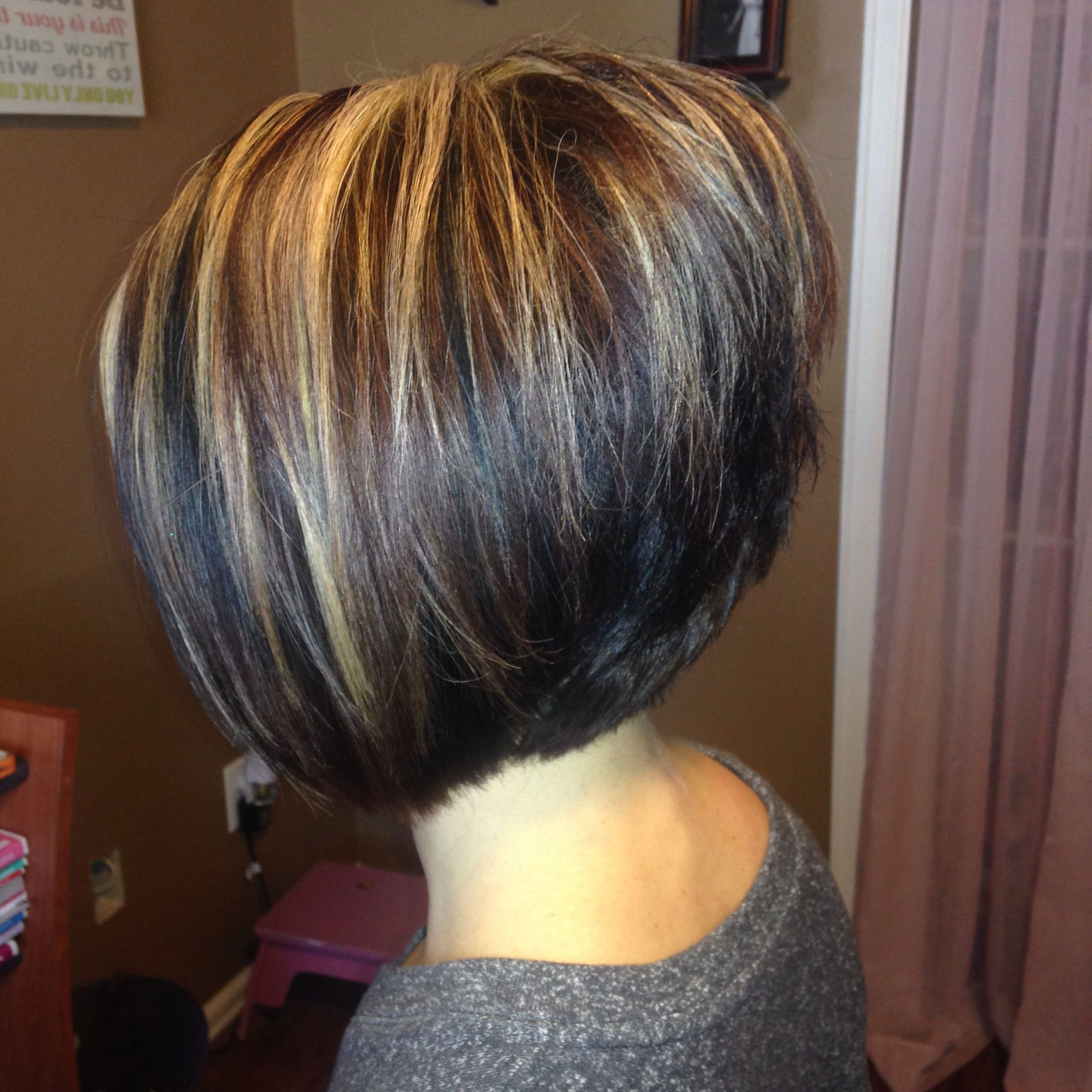 Well Liked Sassy A Line Bob Hairstyles Within A Line Stacked Bob (View 5 of 20)