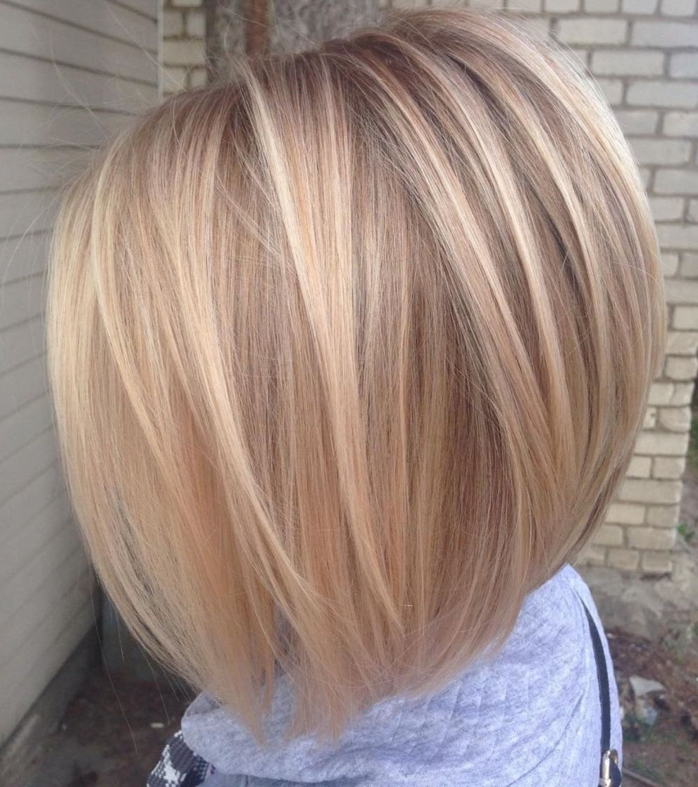 Well Liked Sassy Angled Blonde Bob Hairstyles For 70 Winning Looks With Bob Haircuts For Fine Hair In (View 19 of 20)