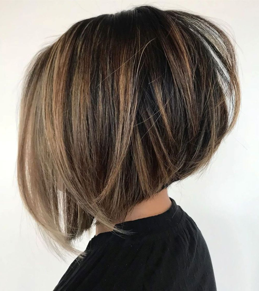 Well Liked Voluminous Bob Hairstyles Throughout 60 Layered Bob Styles: Modern Haircuts With Layers For Any (Gallery 4 of 20)