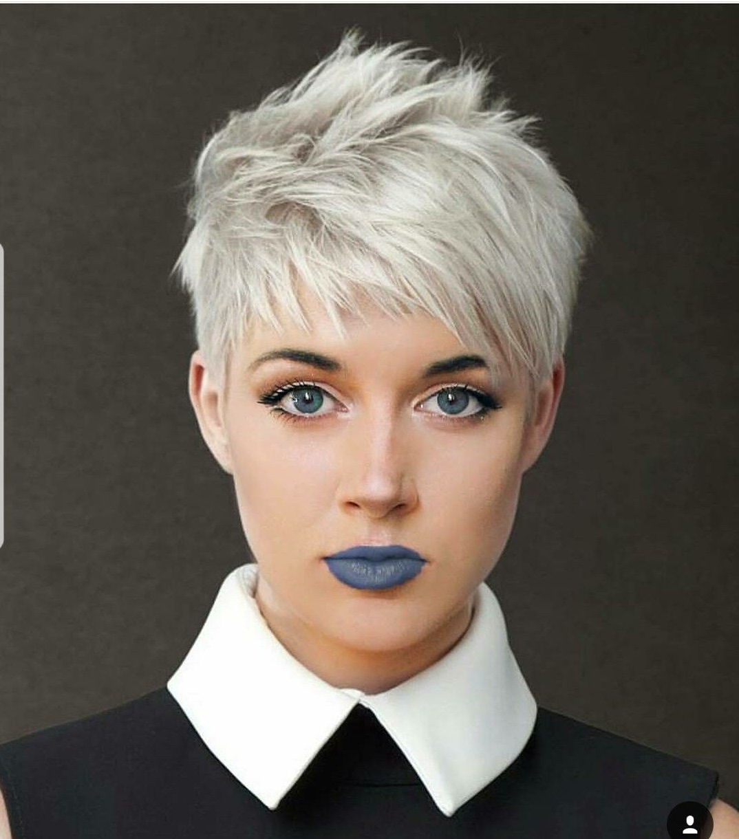 Widely Used Choppy Pixie Haircuts With Short Bangs Pertaining To Pinsandy Mehalick On Hair (Gallery 4 of 20)