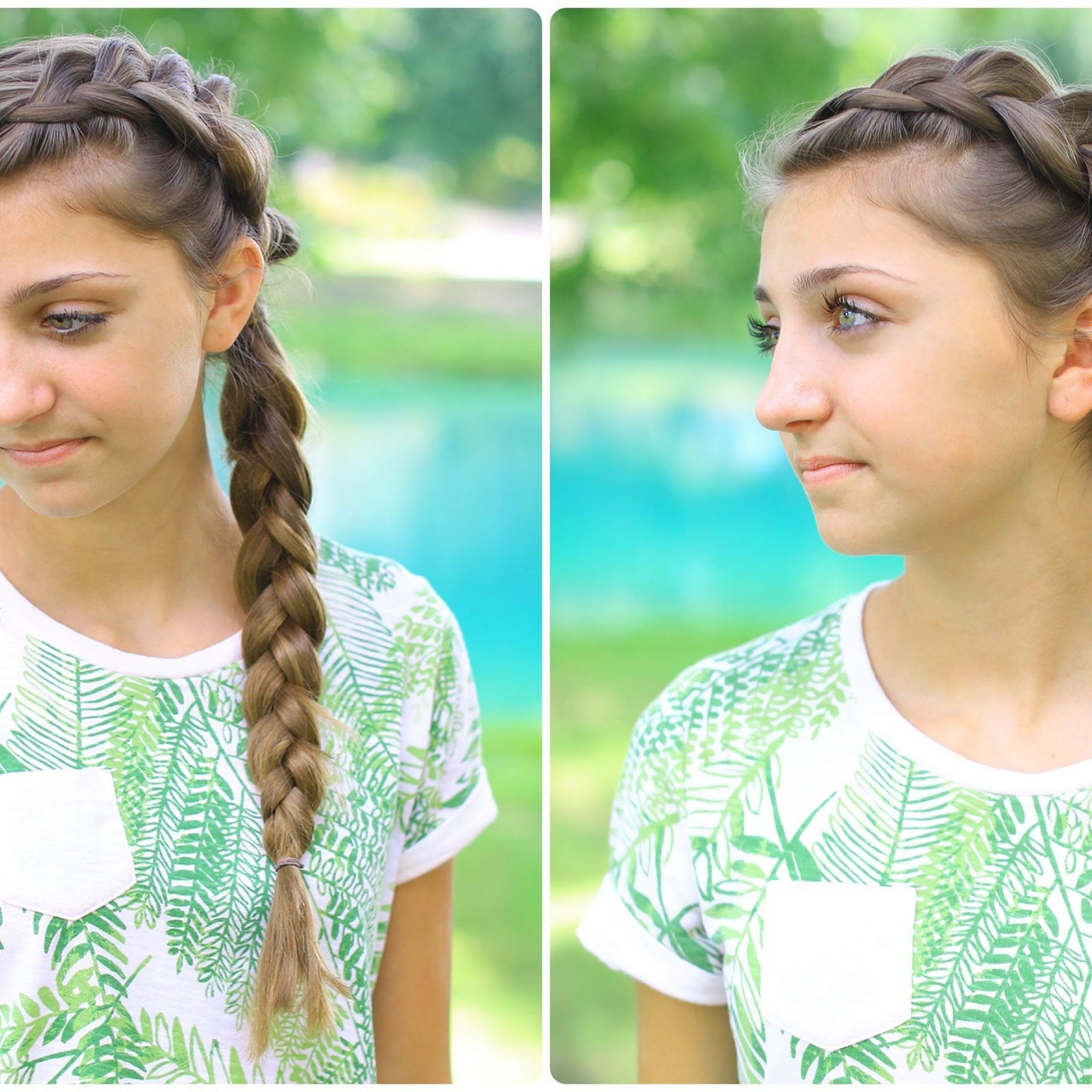 Widely Used Side Dutch Braid Hairstyles Intended For Side Dutch Braid Combo (Gallery 12 of 20)
