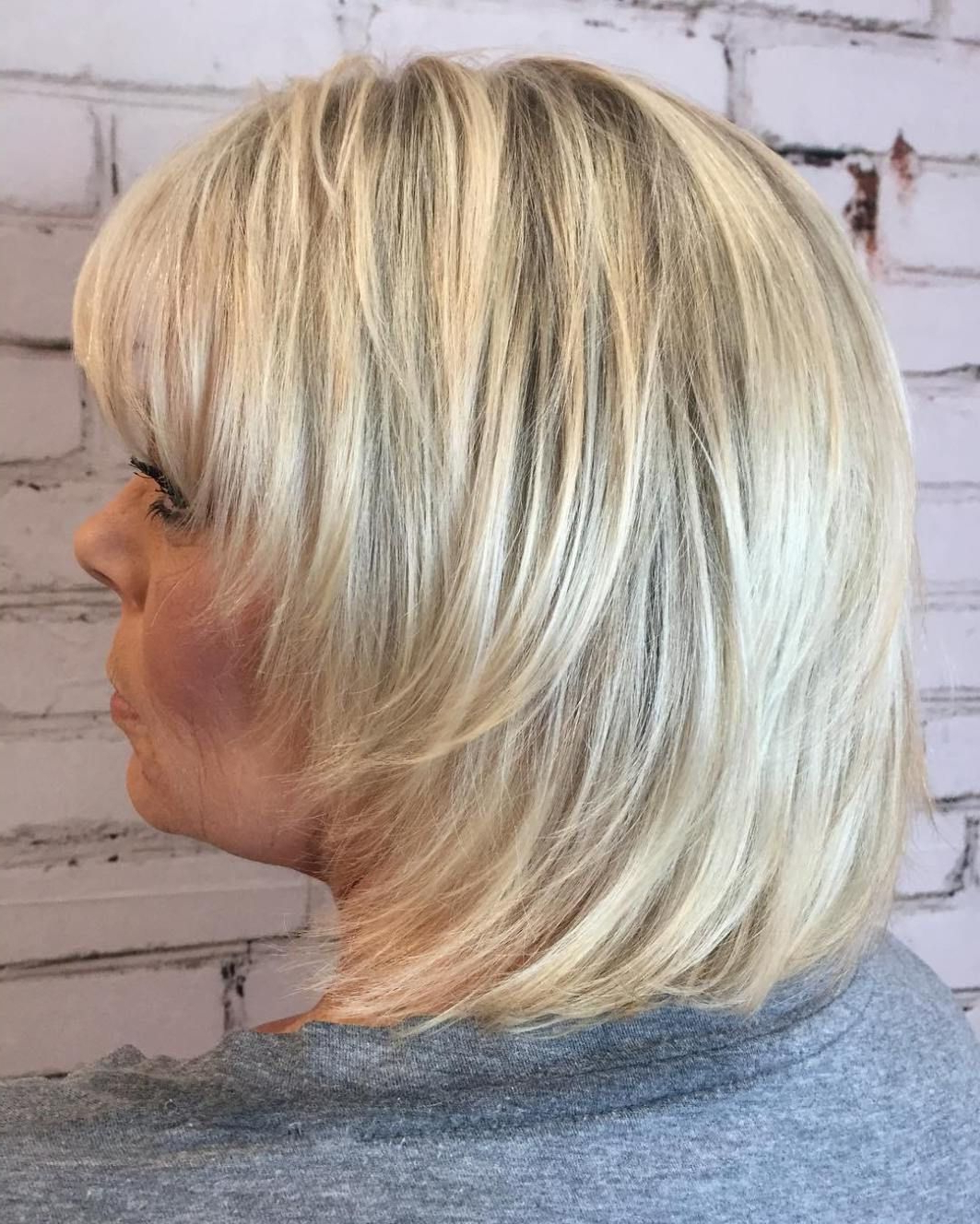Widely Used Youthful Bob Hairstyles Within 20 Shaggy Hairstyles For Women With Fine Hair Over 50 (Gallery 4 of 20)