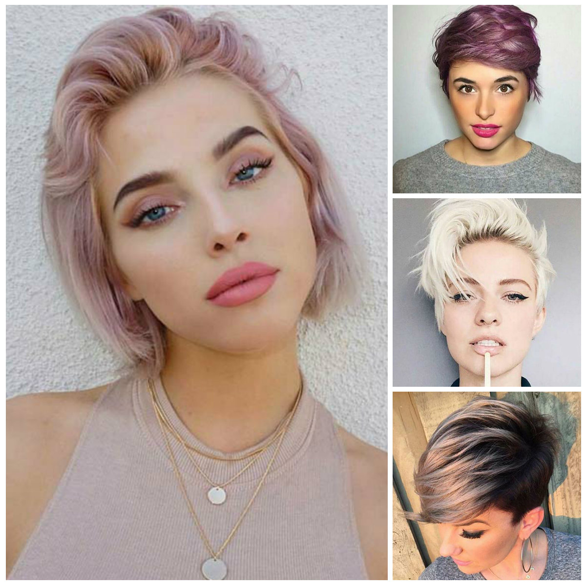 Women's Short Hairstyles For (View 19 of 20)
