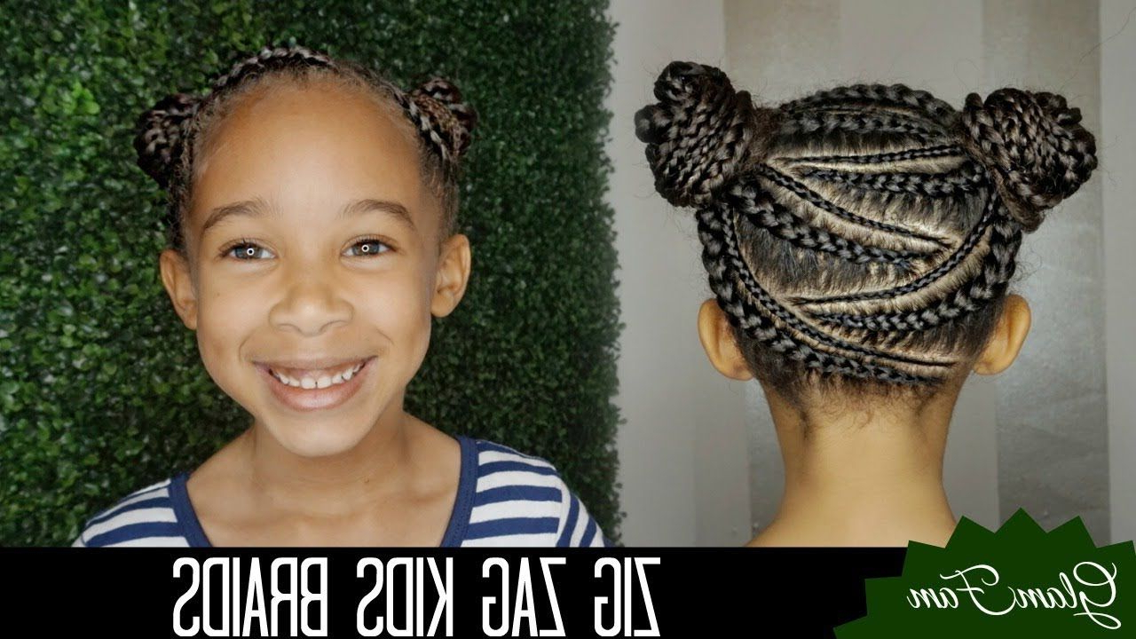 Zig Zag Braid Hairstyle For Kids (View 17 of 20)