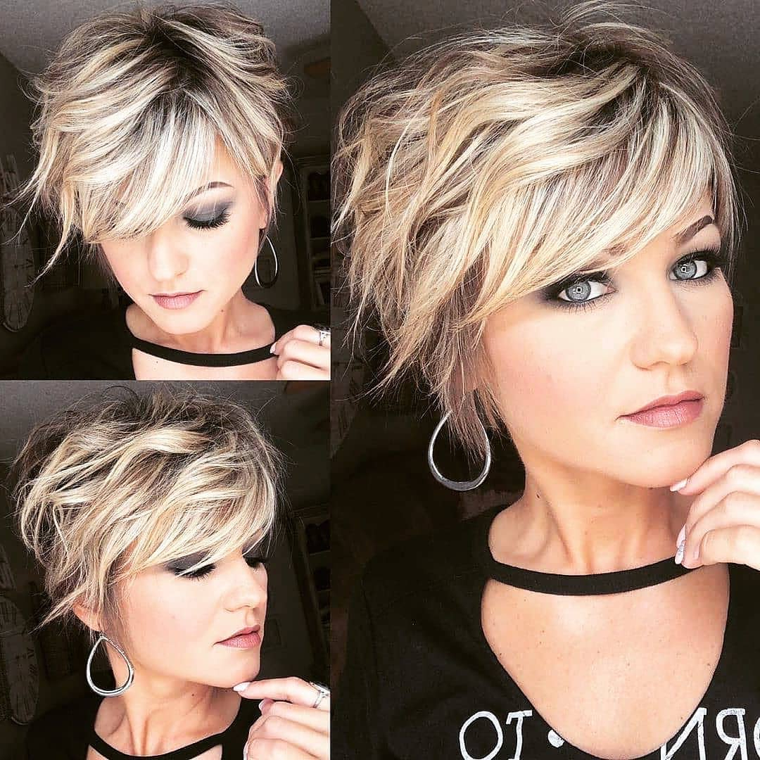 10 Stylish Pixie Haircuts For Women – New Short Pixie Inside 2017 Feathery Bangs Hairstyles With A Shaggy Pixie (View 14 of 20)