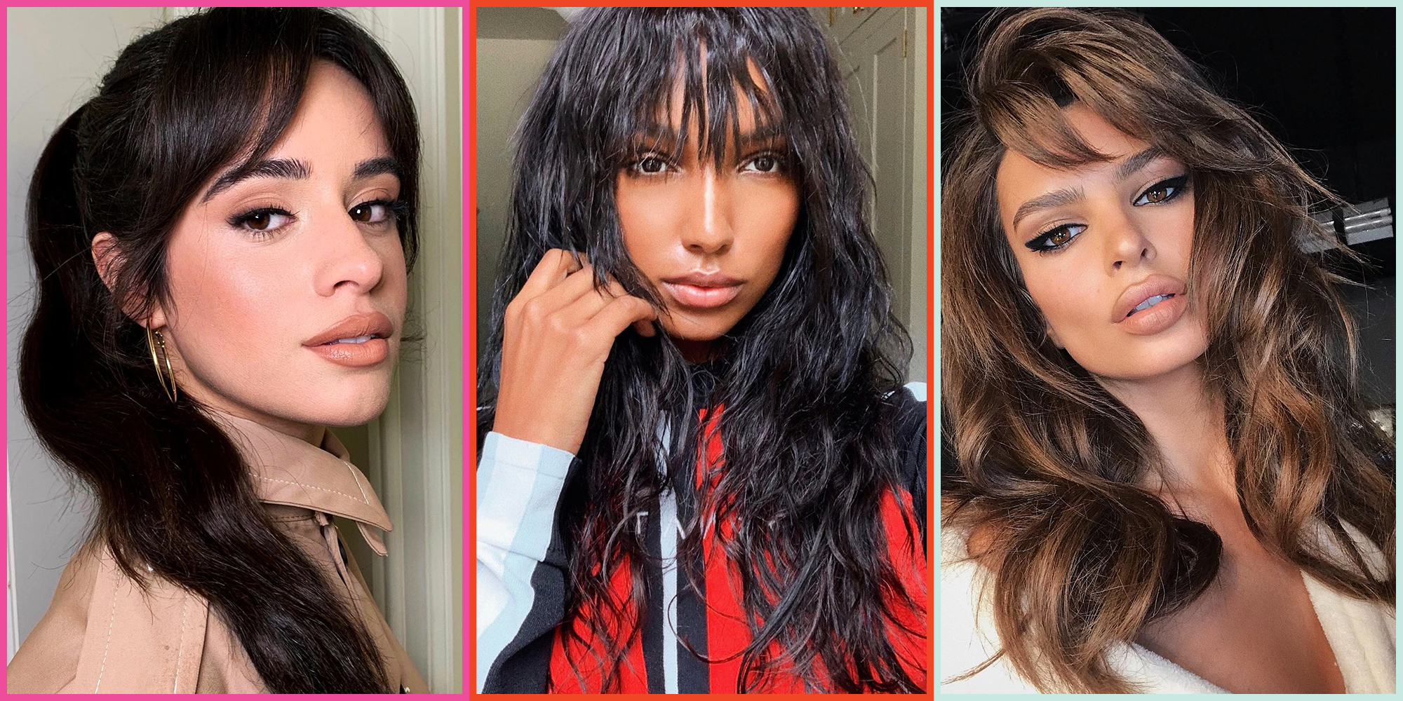 20 Types Of Bangs For Every Hair Texture And Length In 2020 Intended For Famous Classy Feathered Bangs Hairstyles (View 14 of 20)