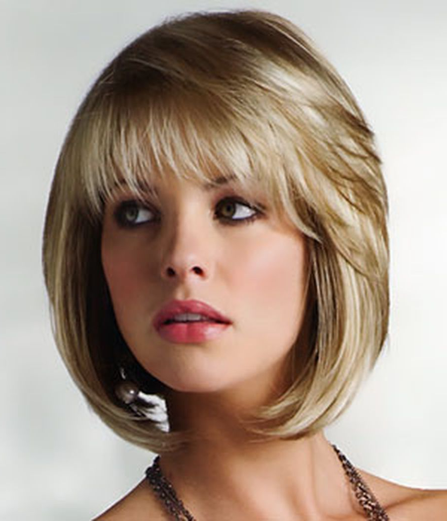 2017 Feathered Bangs Hairstyles With A Textured Bob Within Pin On Hair (View 8 of 20)