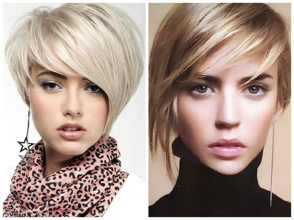 2018 Asymmetrical Feathered Bangs Hairstyles With Short Hair Inside Short Haircut Options With Bangs For Women With Thin Hair (View 6 of 20)