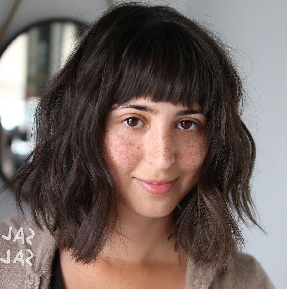40 Awesome Ideas For Layered Bob Hairstyles You Can't Miss Regarding Well Known Short Layered Bob Hairstyles With Feathered Bangs (View 17 of 20)