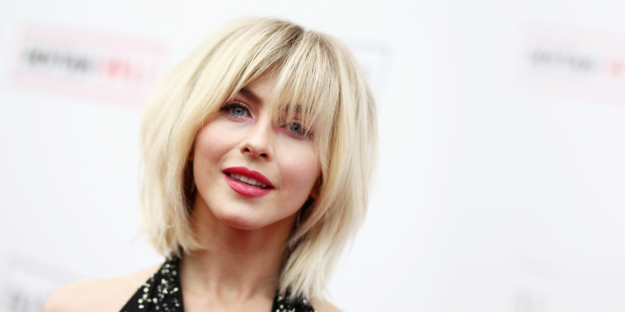 40 Best Hairstyles With Bangs – Photos Of Celebrity Haircuts Within Famous Asymmetrical Parting Feathered Fringe Hairstyles (View 15 of 20)