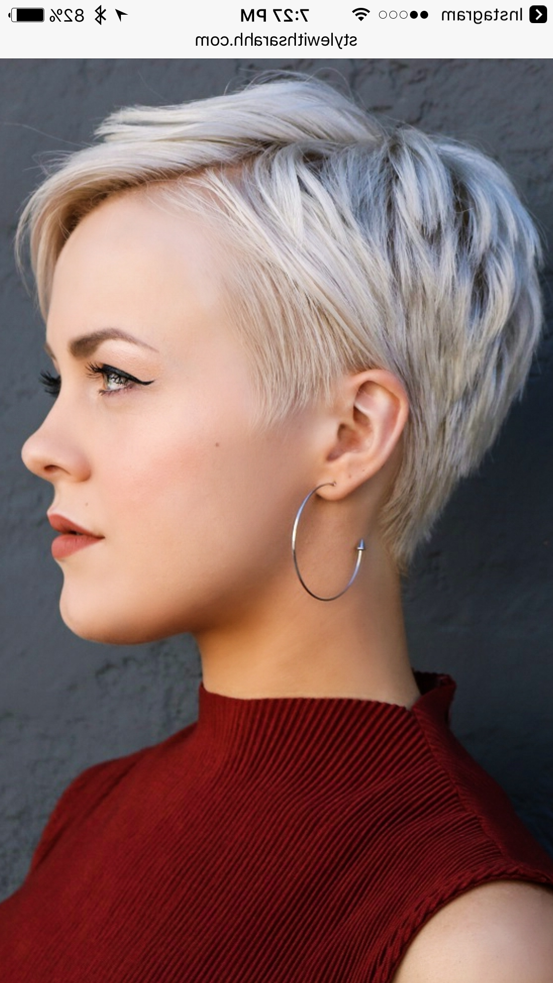 Best And Newest Elegant Feathered Undercut Pixie Hairstyles Inside Pin On Hair (View 6 of 20)